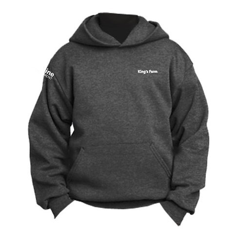 Youth Port & Company Fleece Pullover Hooded Sweatshirt