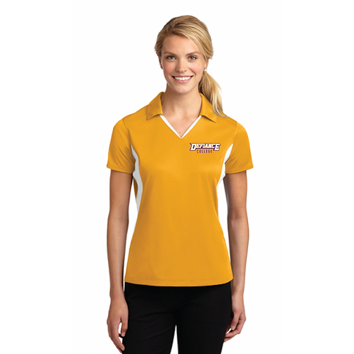 Women's Sport Tek Side Blocked Micropique Sport Wick Polo