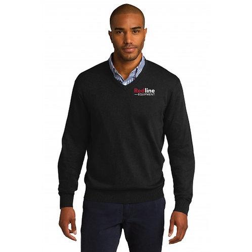Port Authority Mens V-Neck Sweater
