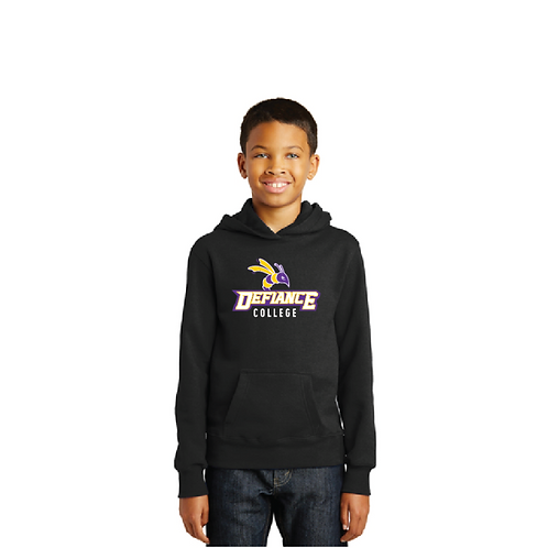 Port & Company® Youth Fan Favorite Fleece Pullover Hooded Sweatshirt