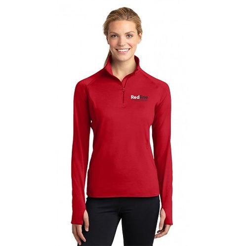 Sport-Tek Ladies Sport Wick Stretch 1/2 Zip Pullover | Multiple Color Options