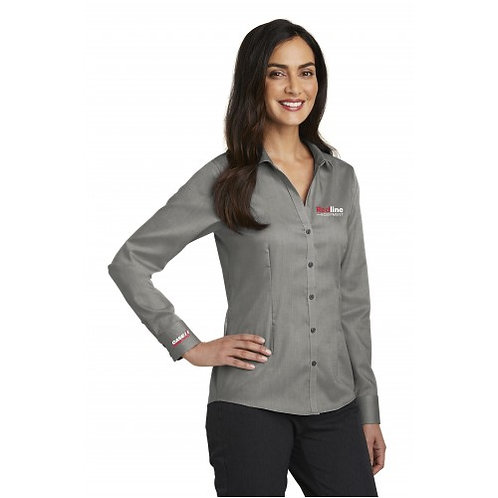 Red House Ladies Non-iron Oxford Shirt | Multiple Color Options