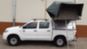Budget Toyota Hilux D/Cab 3.0L D4D 4 x 4 (Automatic Transmission) 2 PAX camping equipped