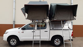 Budget Toyota Hilux D/Cab 2.5L D4D 4 x 4 (Manual Transmission) 4 PAX camping equipped