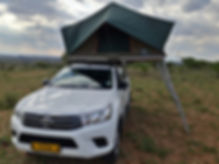 Toyota Hilux D/Cab 2.4L GD6 4 x 4 (Manual Transmission) 2 PAX camping equipped