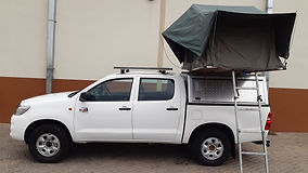 Budget Toyota Hilux D/Cab 2.5L D4D 4 x 4 (Manual Transmission) 2 PAX camping equipped