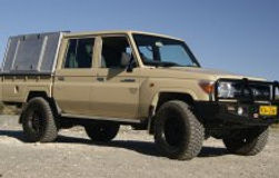 Toyota Landcruiser D/Cab 4 x 4 - 4.0L V6 (Manual Transmission) Unequipped