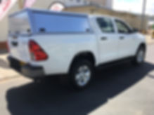Toyota Hilux D/Cab 2.4 L (GD6 4 x 4 Manual Transmission) unequipped
