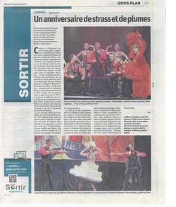 Presse Music Hall 1001 Etoiles