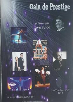 Gala de Prestiges Fay aux loges