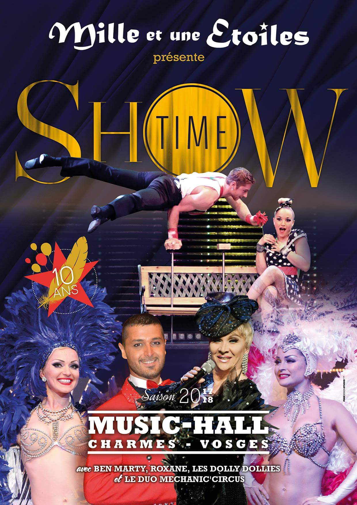 Affiche SHOW TIME 2017 2018