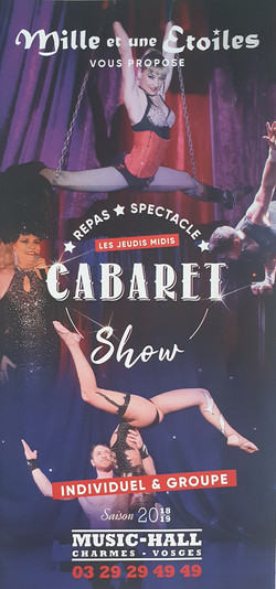 Cabaret Show Charmes 2019