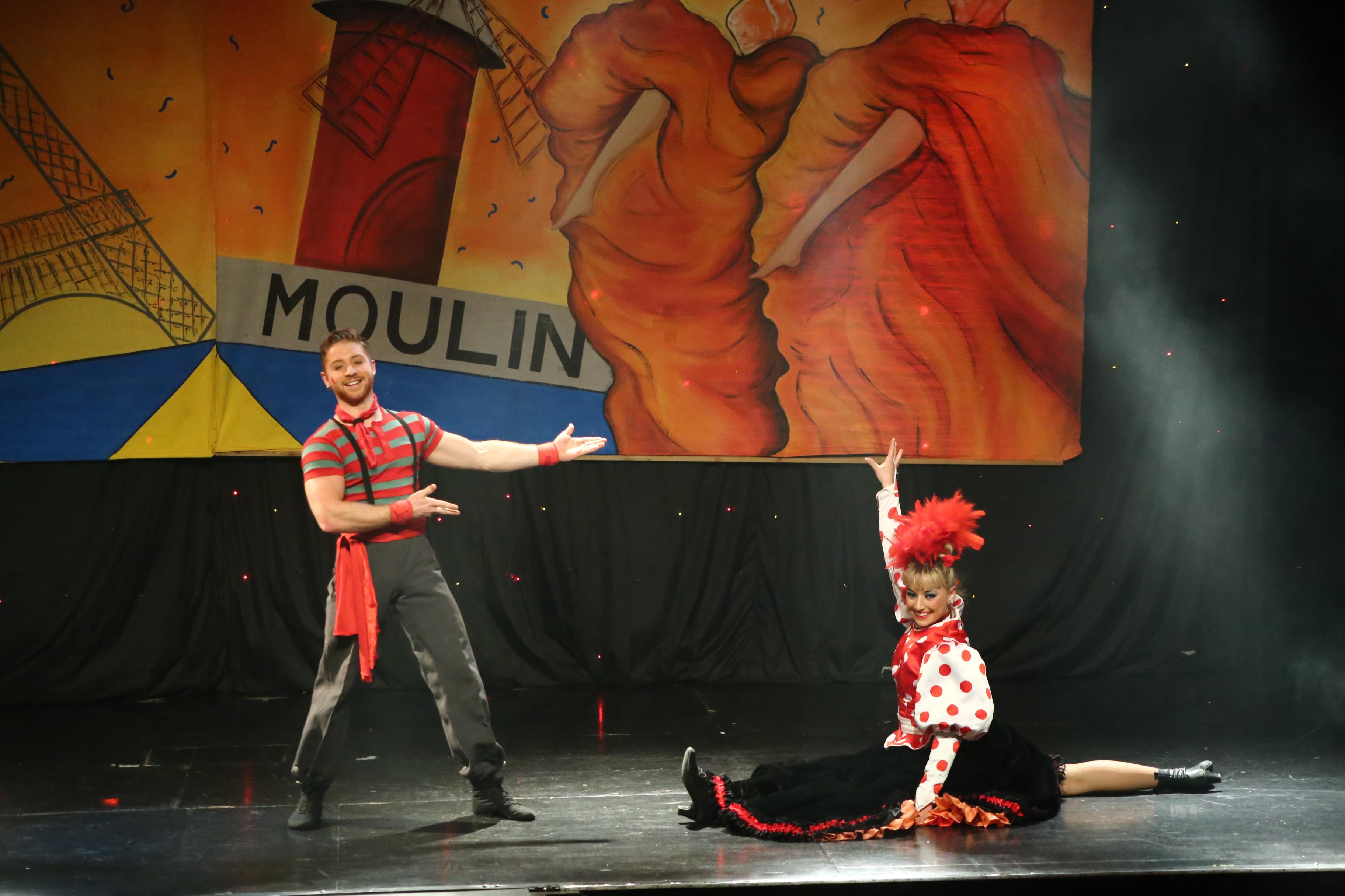 Cancan Duo Mechanic'Circus