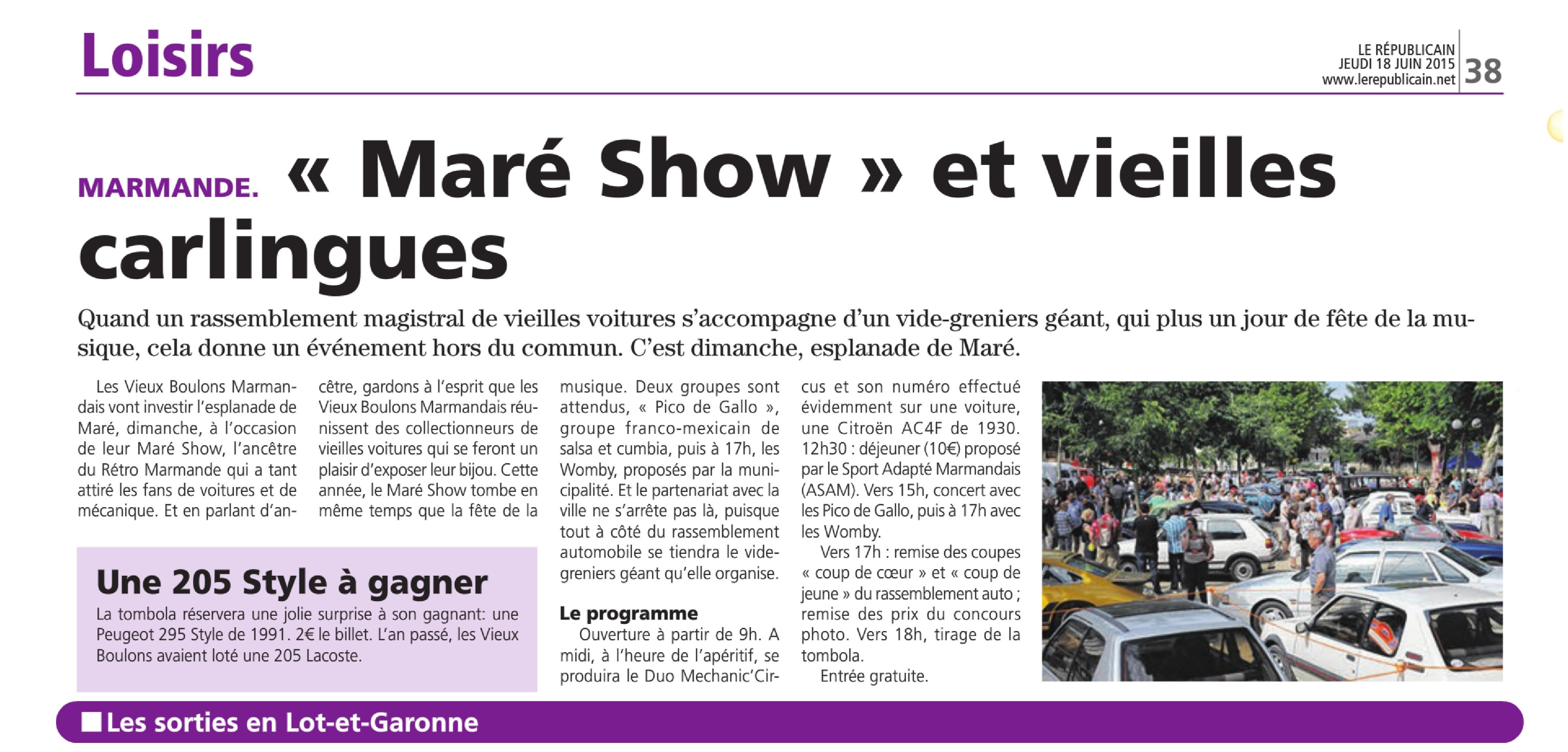 Maré Show 21.06.2015