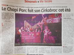 Article Cirque Star 2017
