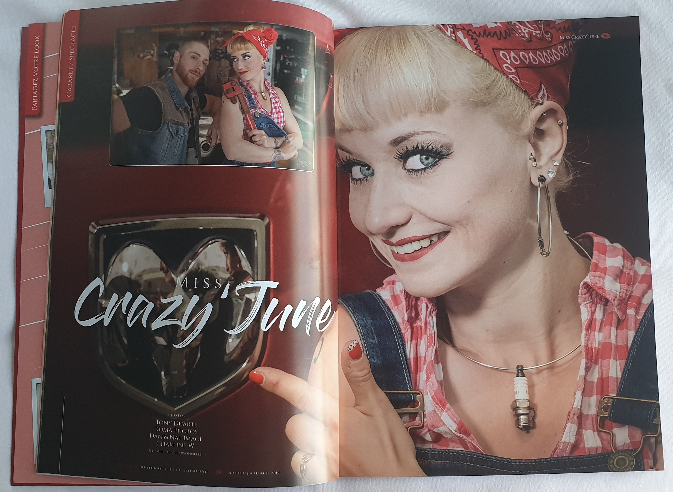 Pure Pin up Magazine 3 automne 2019