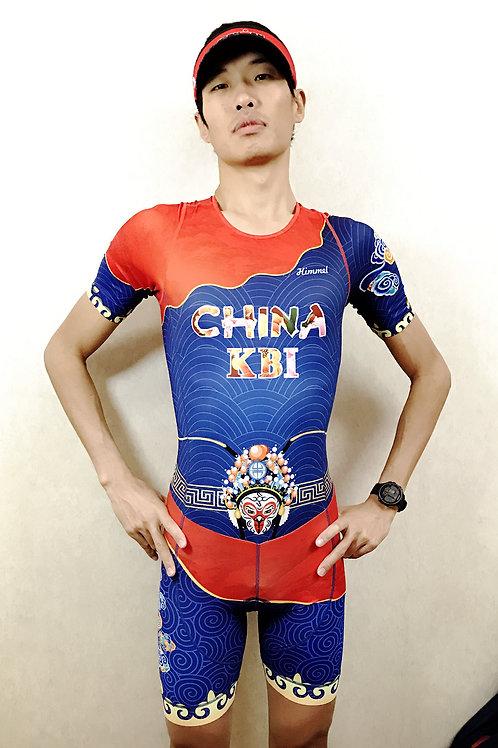 Monkey King Short Sleeves Triathlon Suit