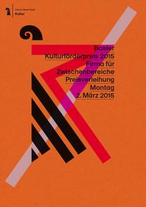 BASLER KULTURFÖRDERPREIS 2015