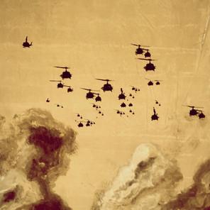 N°1372, Vietnam 1969, 2018, 205x163 cm, acrylique et sérigraphie sur toile.