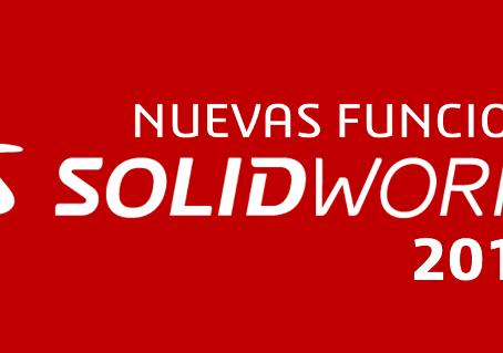 Las novedades de Solidworks