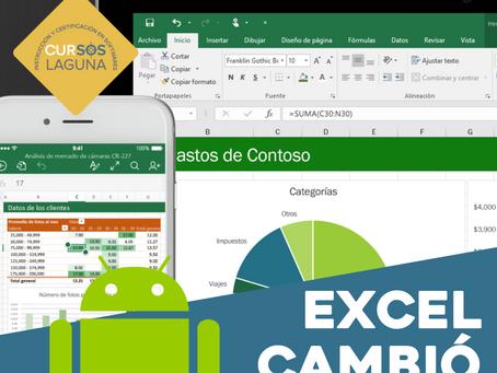 Excel se moderniza