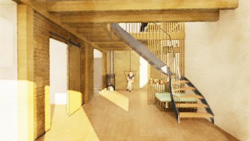 Aménagement intérieur & Mobilier - Maison B&R