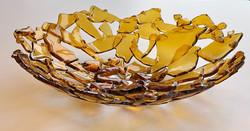 Upcycled Gold Bowl
