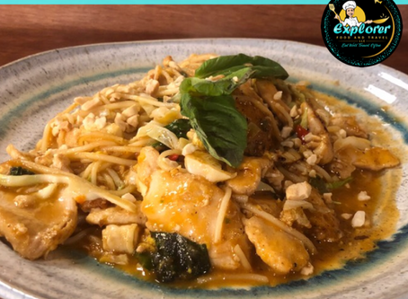 Fusion Chicken Pad Thai