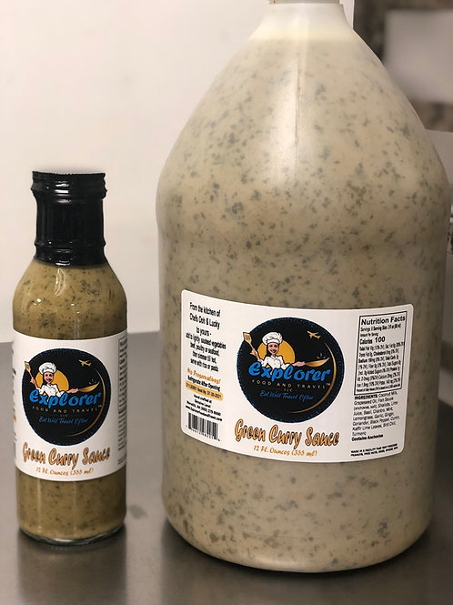 NEW! Gallon Size Green Curry Sauce