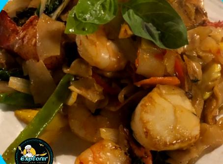Seafood Fusion Pasta Recipe