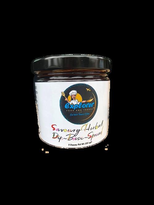 Savoury Herbal Dip Base Spread & Paste