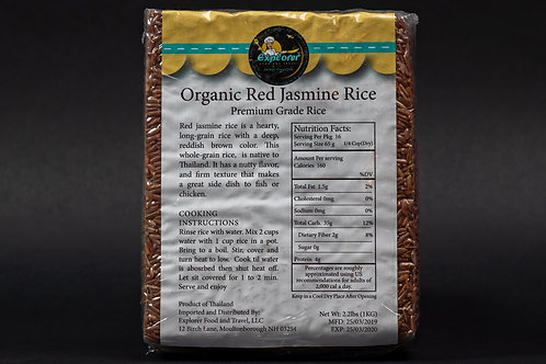 Organic Red Jasmine Rice