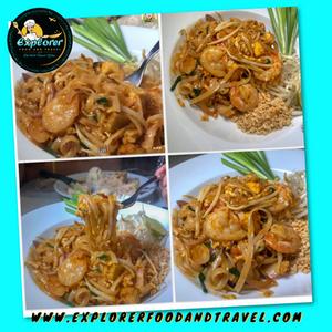Shrimp Pad Thai Recipe Explorer Food & Travel