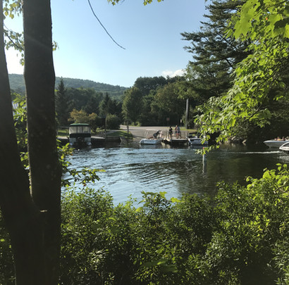 View of Boat Launch Across the Channel.J