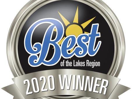 2020 Winner of Best of the Lakes Region!