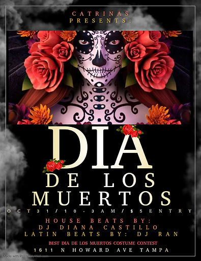 Copy of Day of the Dead - Made with Post