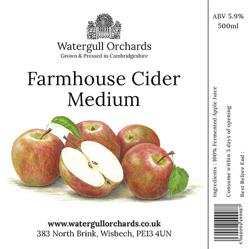 50cl Medium Farmhouse Cider (5.9%)