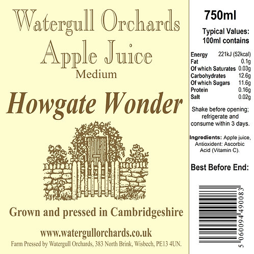 Medium Howgate Wonder 75cl