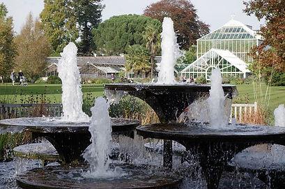 cambridge botanics fountains