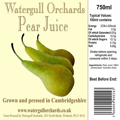 Pear Juice 75cl