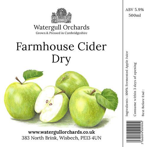50cl Dry Farmhouse Cider (5.9%)