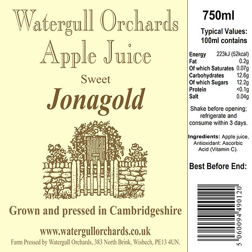 Sweet Jonagold 75cl