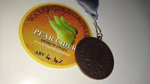 Our Perry won the Gold award at Norwich Beer Festival 2016 and our Elderflower Cider won the Bronze medal at the Dublin Craft Cider Cup 2017
