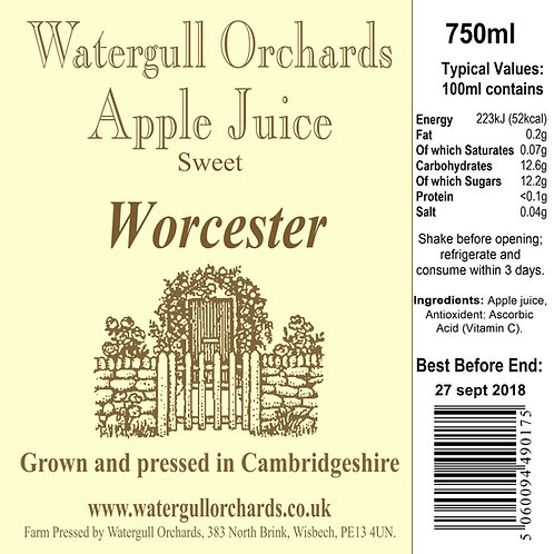 Sweet Worcester 75cl