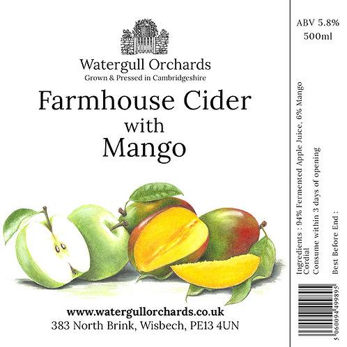 50cl Farmhouse Cider with Mango (5.8%)