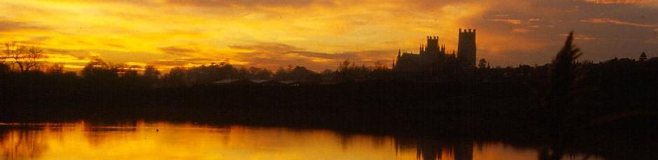 ely cathedral sunrise sunset