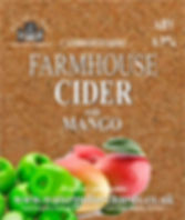 mago cider label