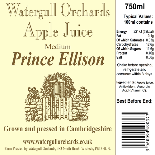 Medium Prince Ellison 75cl