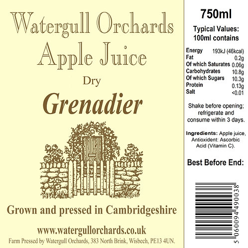 Dry Grenadier 75cl
