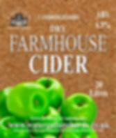 dry cider label
